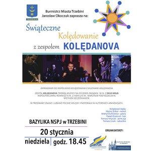 Świąteczne kolędowanie z zespołem Kolendanova
