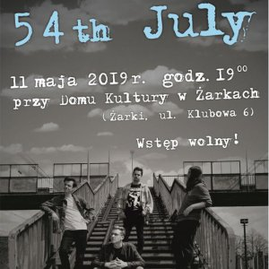 Koncert zespołu 54 th July