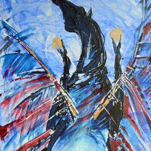 Wernisaż malarstwa Małgorzaty Mizi