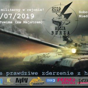 """Zlot Militarny Akcja """"Burza"""" w Trzebini"""