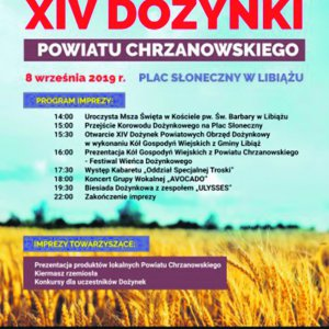 XIV Dożynki Powiatu Chrzanowskiego