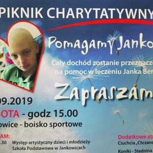 """Piknik charytatywny """"Pomagamy Jankowi"""""""