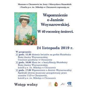 Wspomnienie o Janinie Woynarowskiej