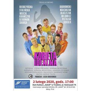 """Spektakl teatralny """"Kobieta idealna"""""""