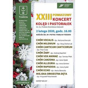 XXIII Powiatowy Koncert Kolęd i Pastorałek