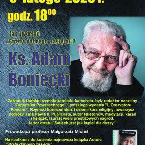 Spotkanie z ks. Adamem Bonieckim