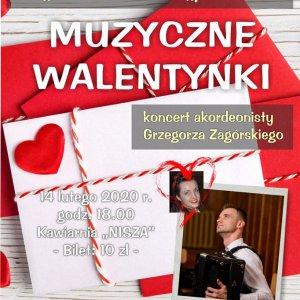 Akordeonowy Koncert Walentynkowy w Libiążu