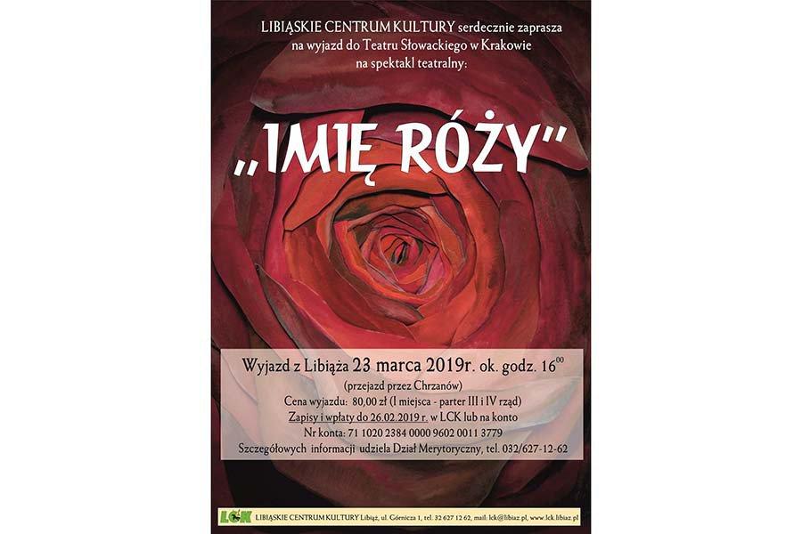 Wyjazd na spektakl do Krakowa