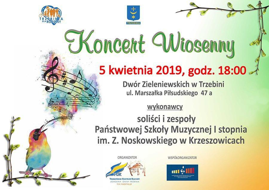 Koncert Wiosenny w Dworze