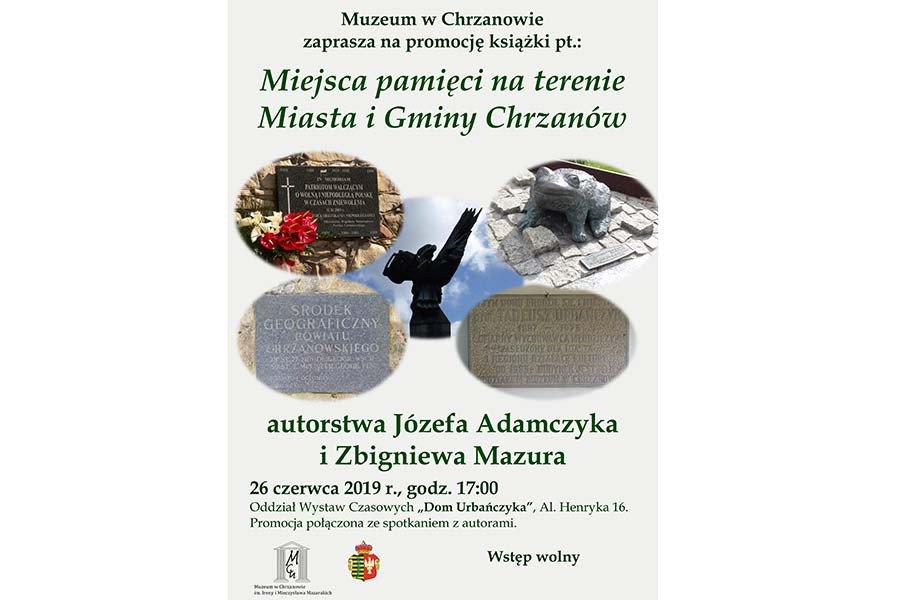 Promocja książki Józefa Adamczyka i Zbigniewa Mazura