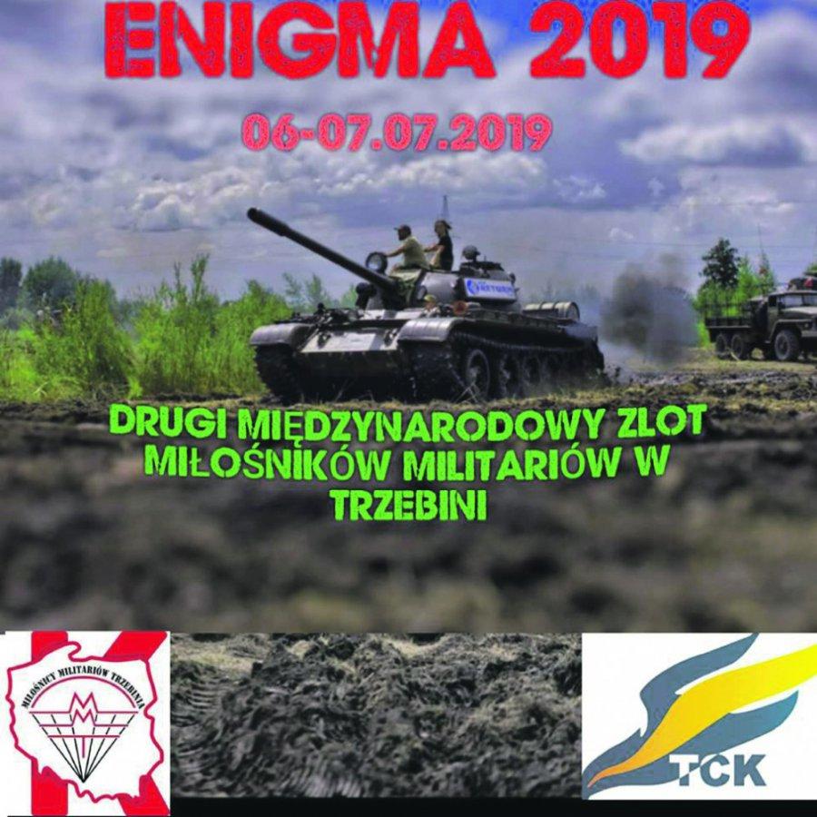 II Międzynarodowy Zlot Miłośników Militariów w Trzebini