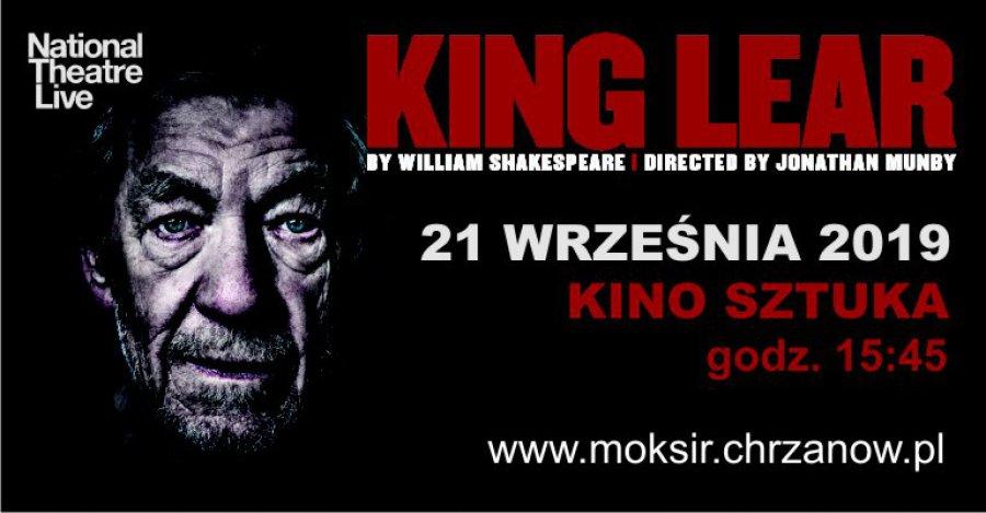 """Retransmisja spektaklu """"Król Lear"""""""