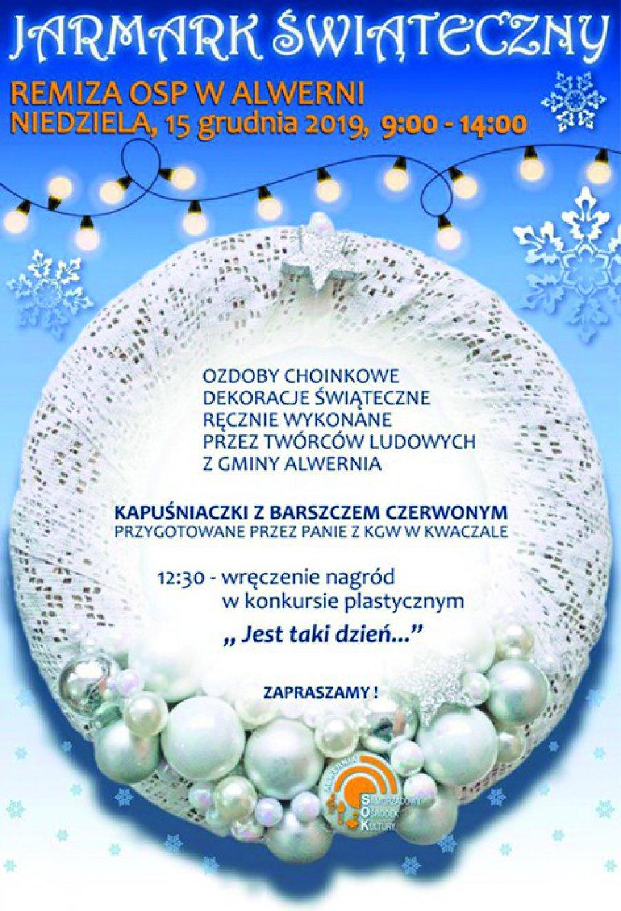 Jarmark Świąteczny w Alwerni