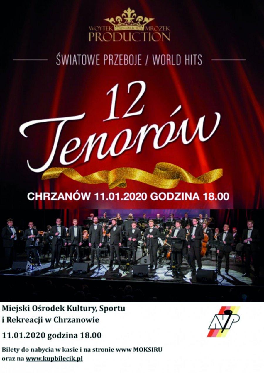 Koncert 12 tenorów