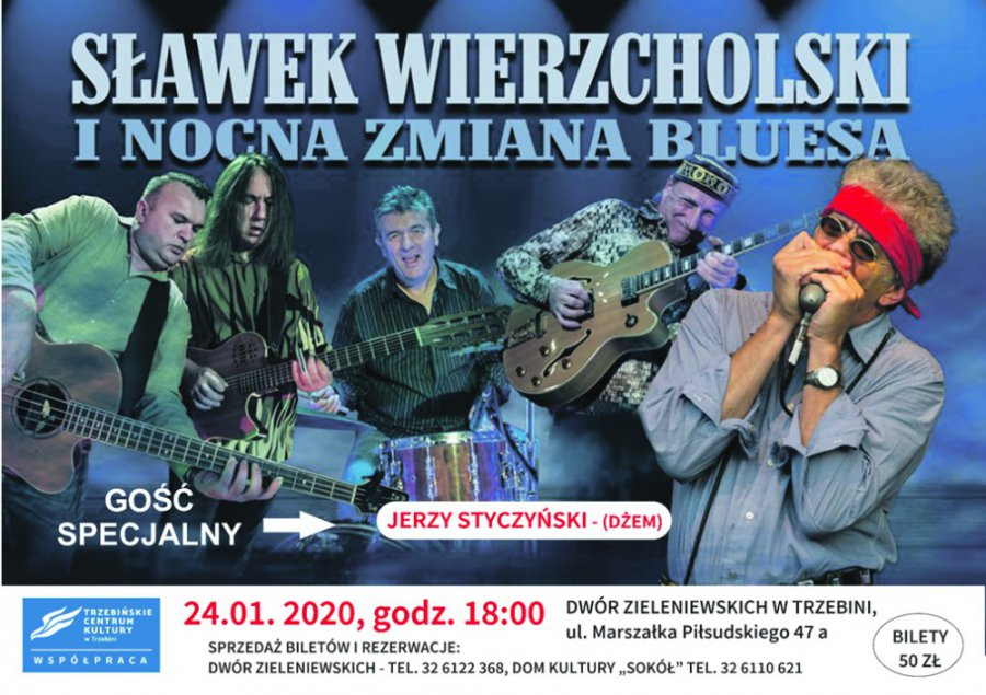 Sławek Wierzcholski i Nocna Zmiana Bluesa