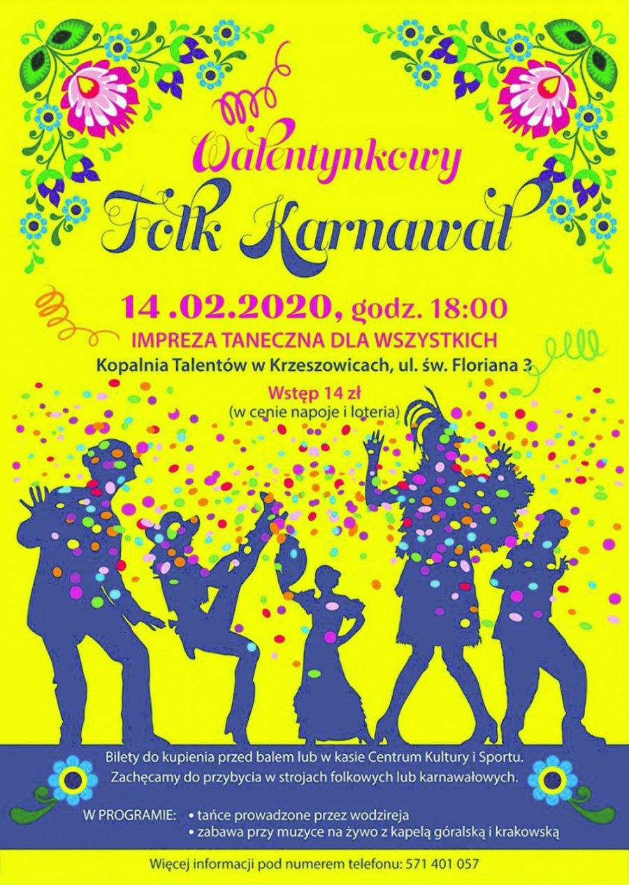 Walentynkowy Folk Karnawał w Krzeszowicach
