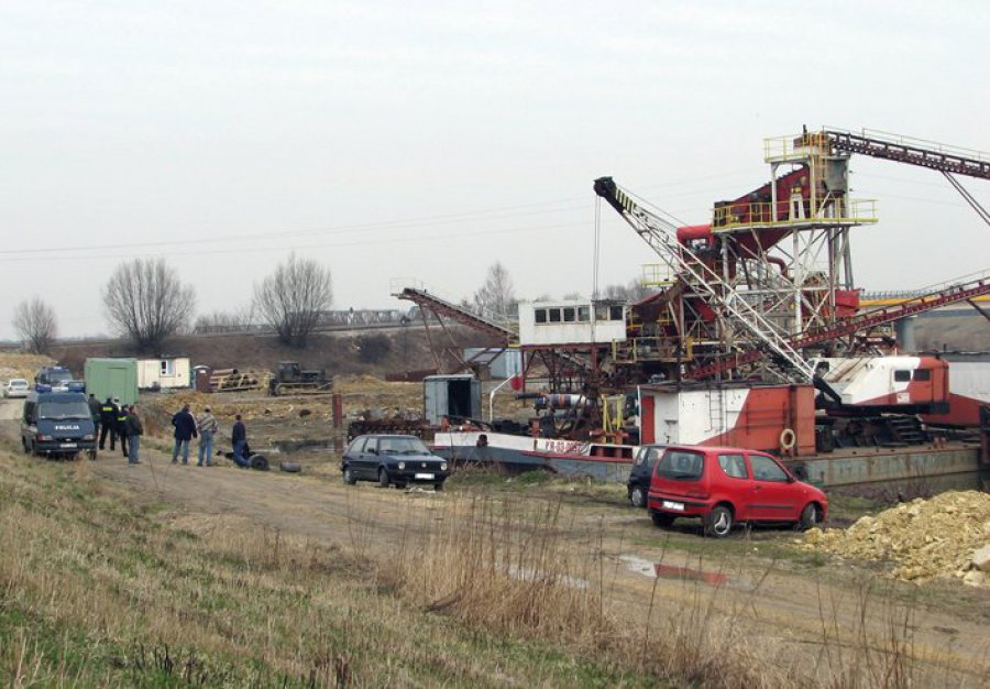 Nielegalne wydobycie w Bobrku?