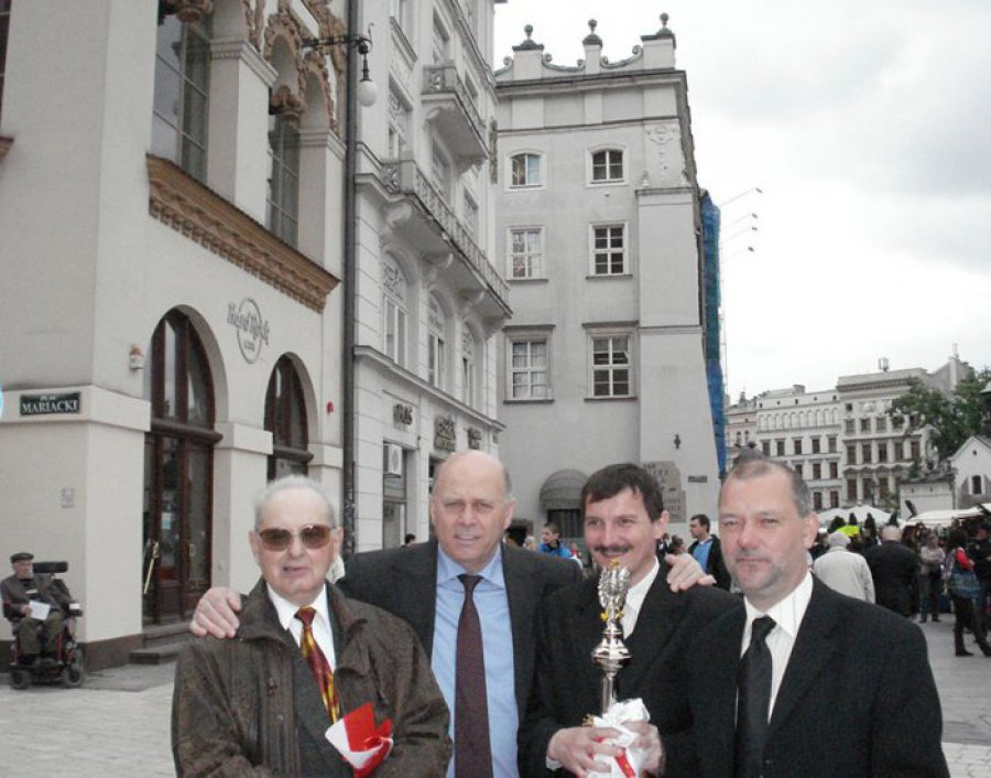 Działacze z Chrzanowa uczestniczyli w Krakowie w jubileuszu MZPN