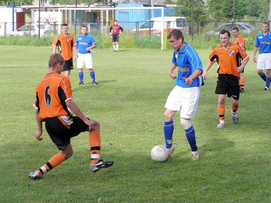 Mecz na szczycie w Zagórzu