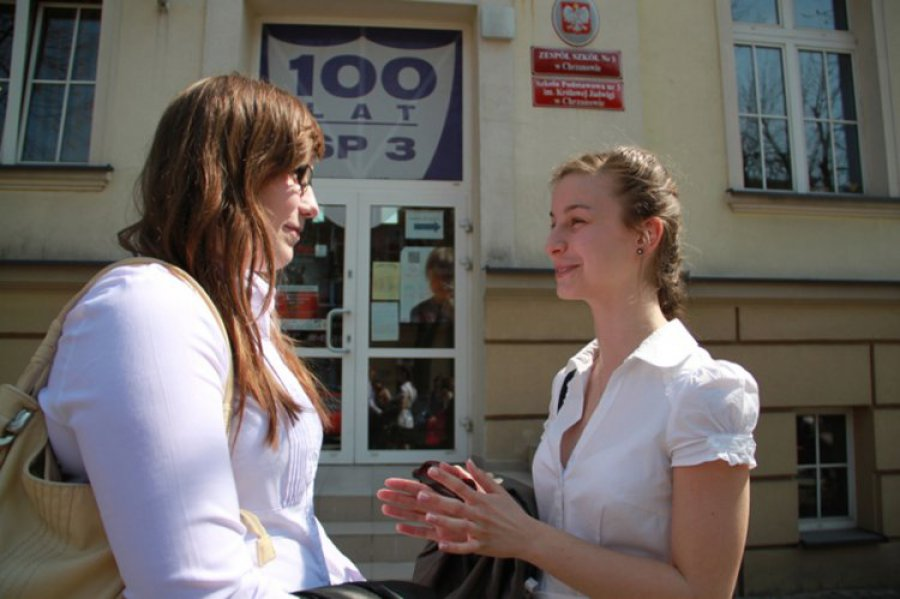 CHRZANÓW. Gimnazjaliści nie stresowali się w pierwszym dniu egzaminu