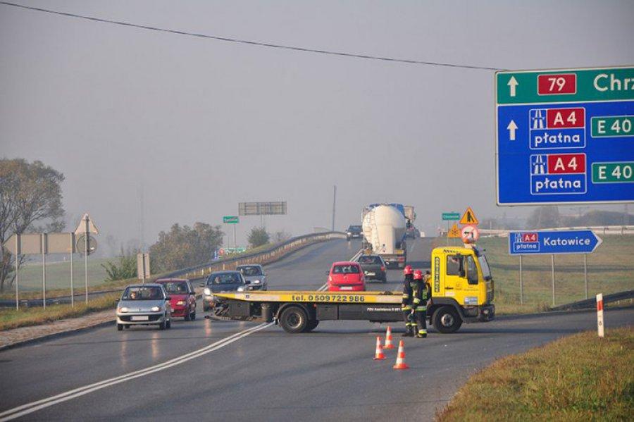 CHRZANÓW-TRZEBINIA. Dwa wypadki i sześciu rannych