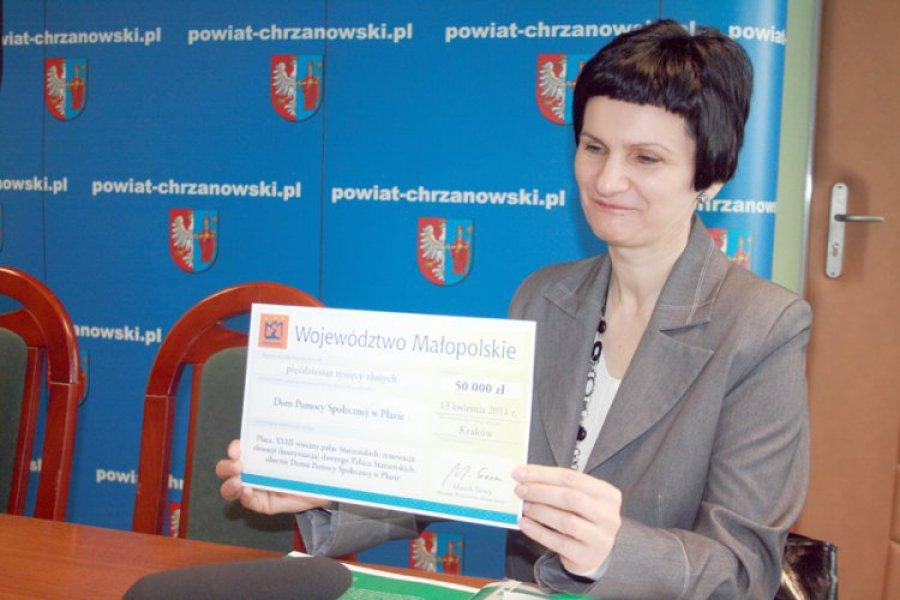 PŁAZA. Za pieniądze z województwa odnowią elewację DPS-u