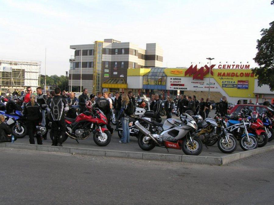 Motocykliści opanowali Chrzanów