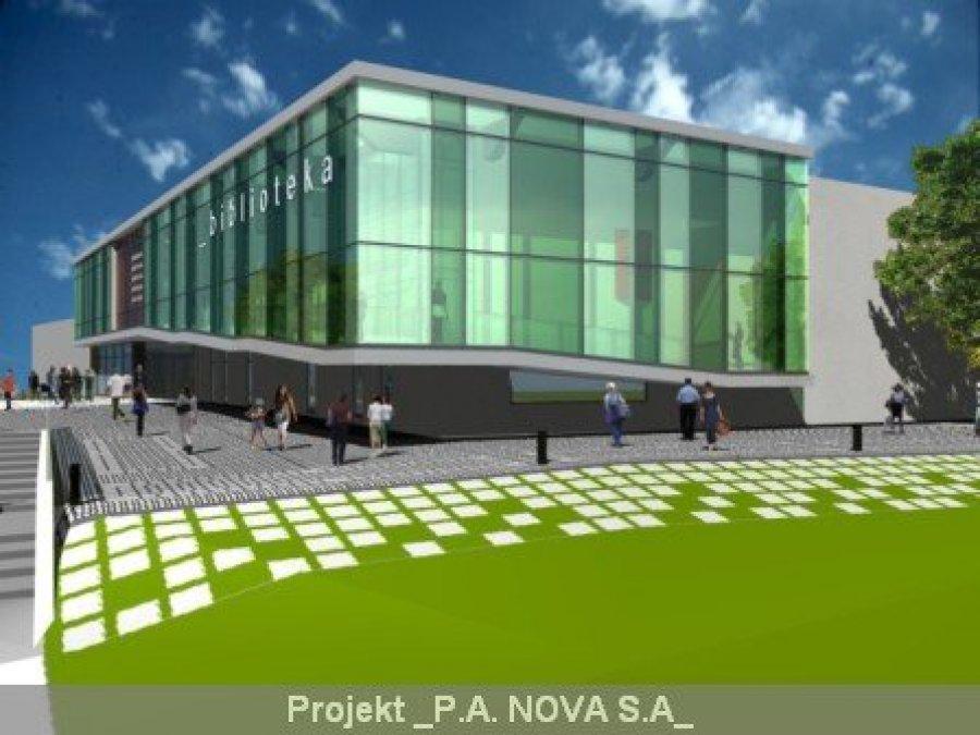 Tyski Concret wybuduje bibliotekę