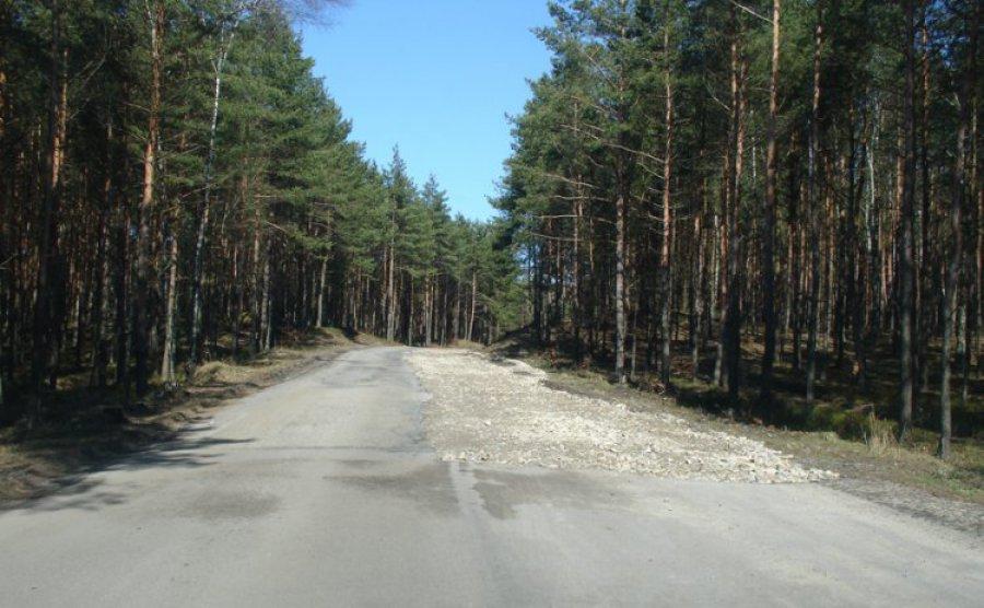 Utrudnienia na drodze łączącej Trzebinię z Bukownem