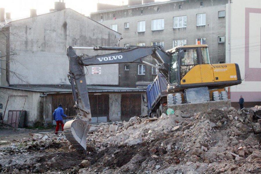 Kamienicy przy ul. 29 Listopada w Chrzanowie już nie ma