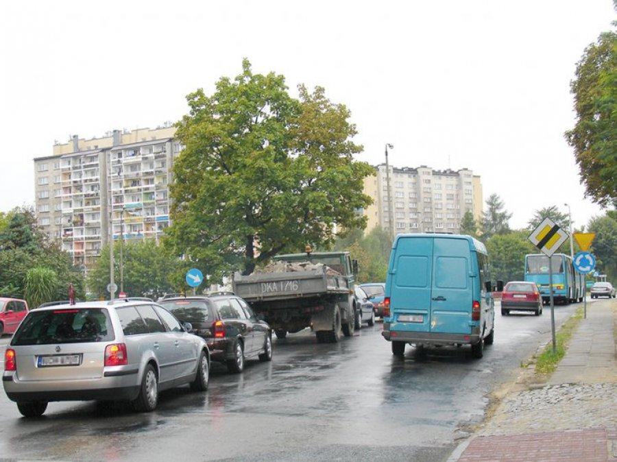 Rondo przy ul. Śląskiej w Chrzanowie do przebudowy