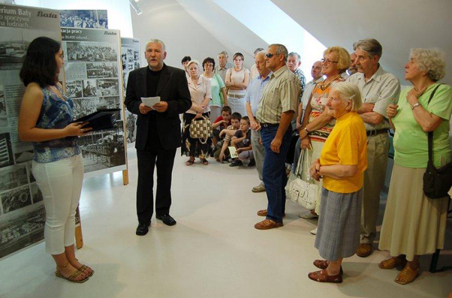 Cenne pamiątki w nowej sali Domu Pamięci Baty w Chełmku