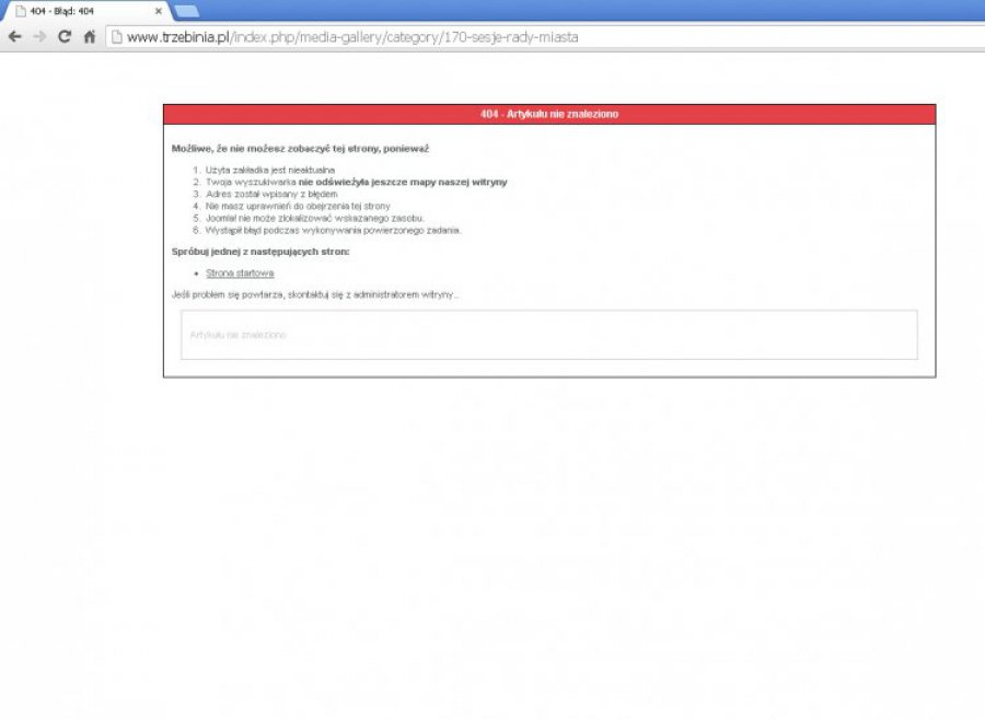 TRZEBINIA. Kto usunął nagrania sesji rady z internetowej strony urzędu?
