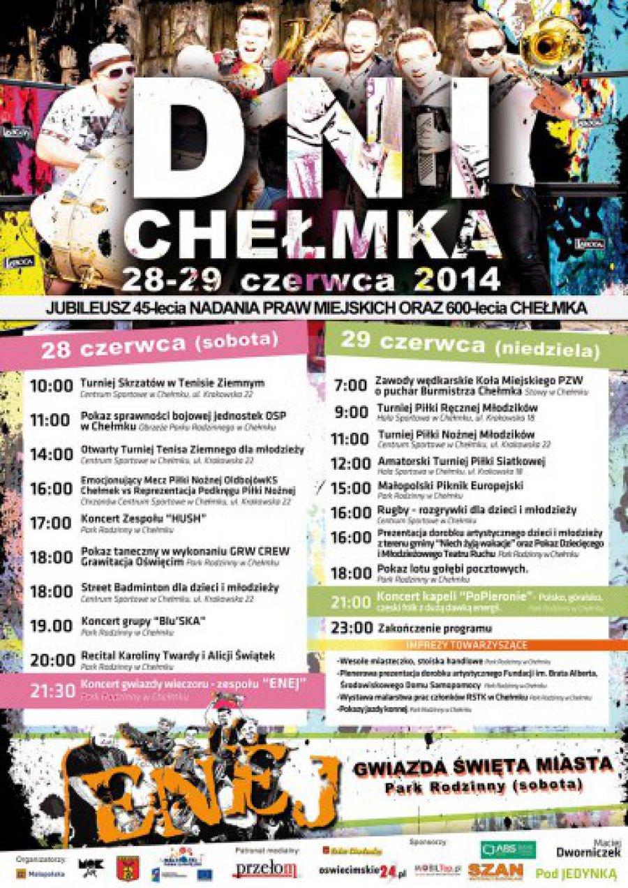 Program Dni Chełmka 2014