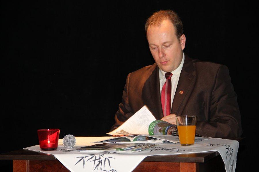 Marek Niechwiej czytał wiersze