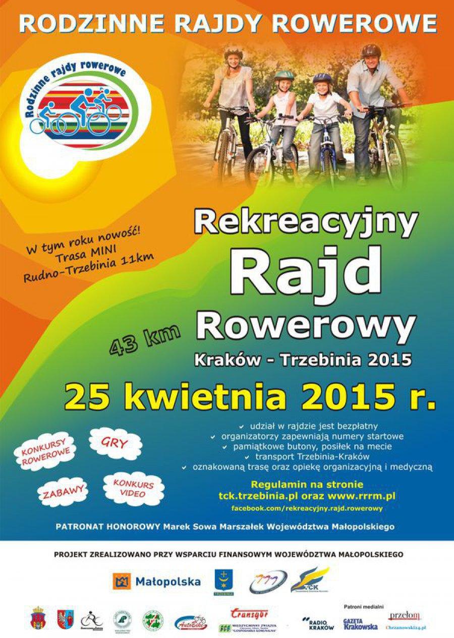 Rowerzyści przejadą do Młoszowej z Krakowa i Rudna