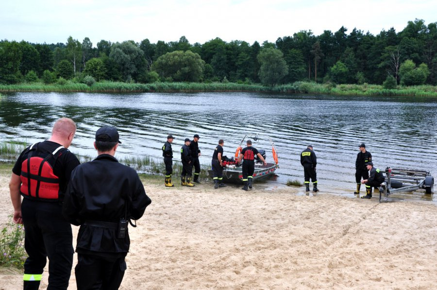 Strażacy wyłowili z Gliniaka ciało zaginionego Łukasza