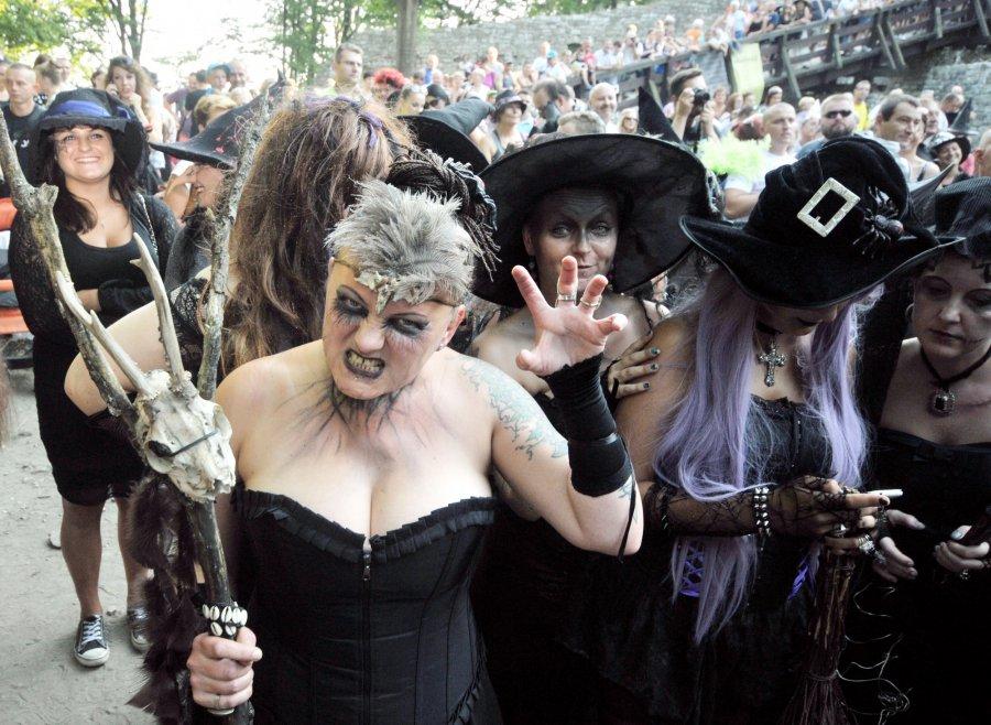 Wiedźmy i czarownice przyleciały na Lipowiec