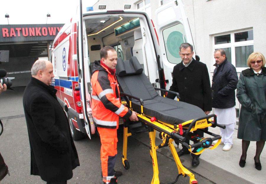 Kolejny nowoczesny ambulans wyjedzie do chorych