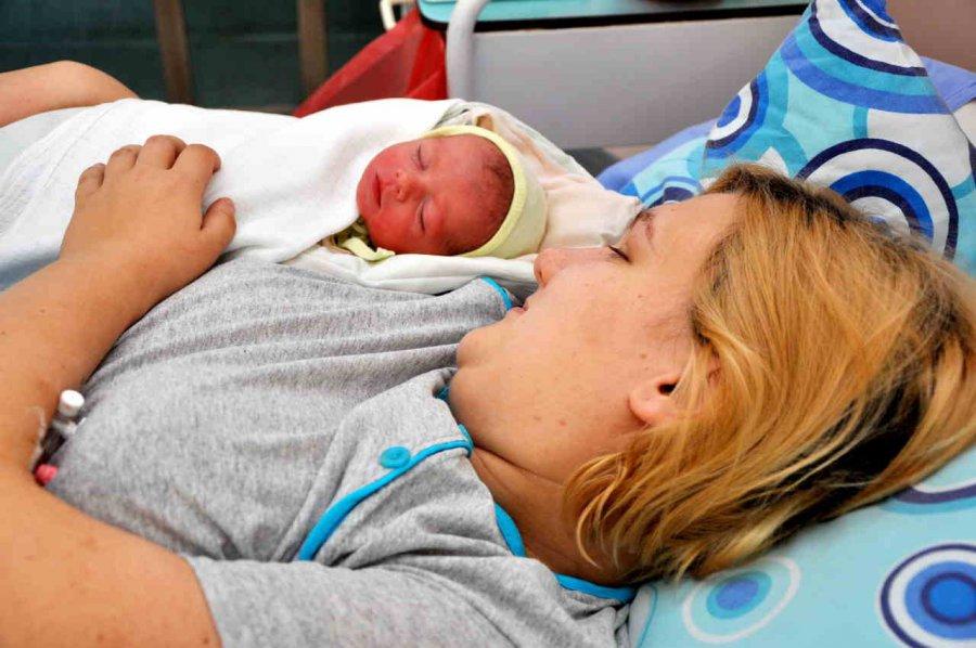 Marysia pierwszym dzieckiem urodzonym w 2016 roku