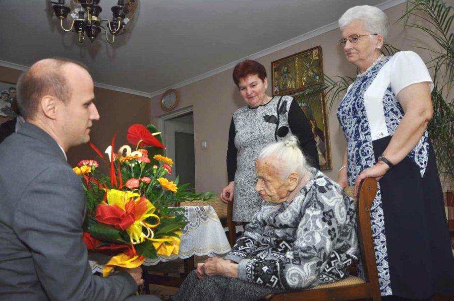 Mieszkanka Bolęcina skończyła 100 lat