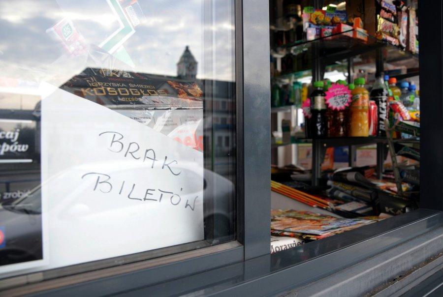 Kioskarze nie mają biletów autobusowych