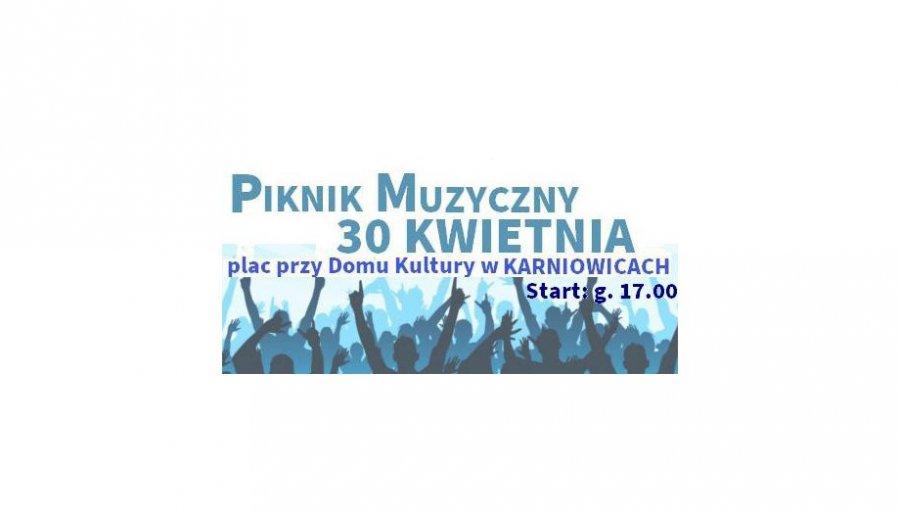 Pierwszy Piknik Muzyczny w Karniowicach