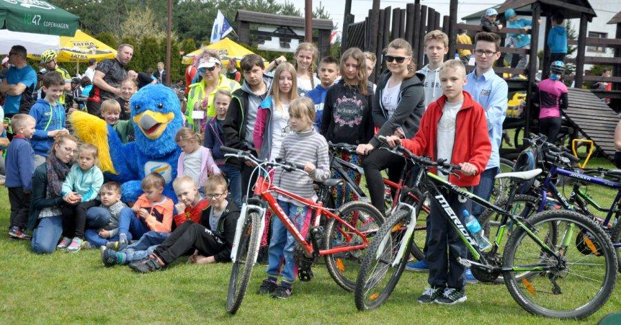 Szczęśliwcy wylosowali sześć rowerów