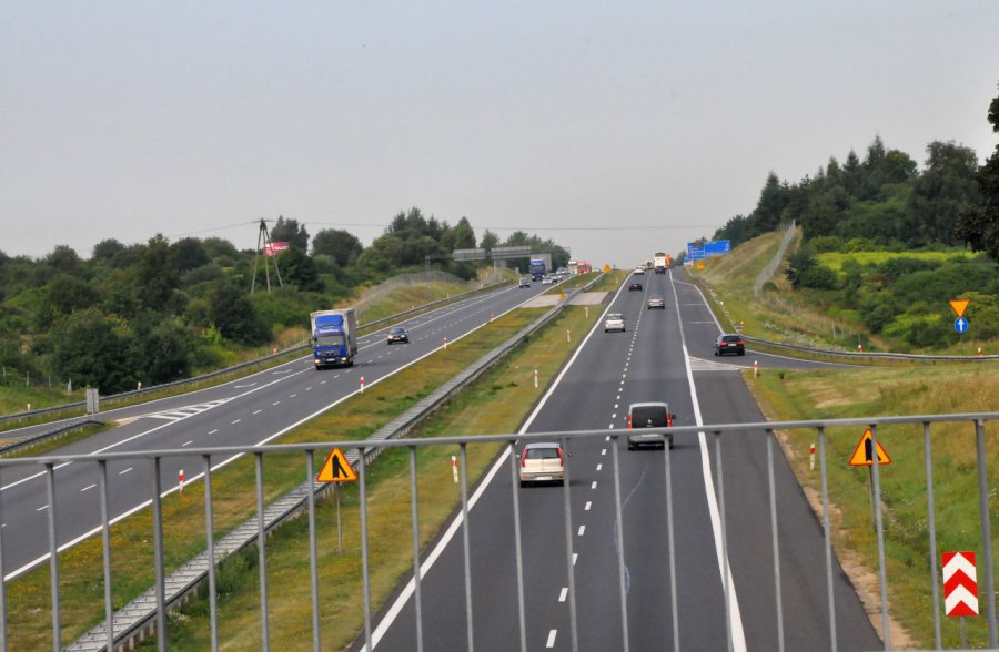 Rano była zablokowana autostrada A4