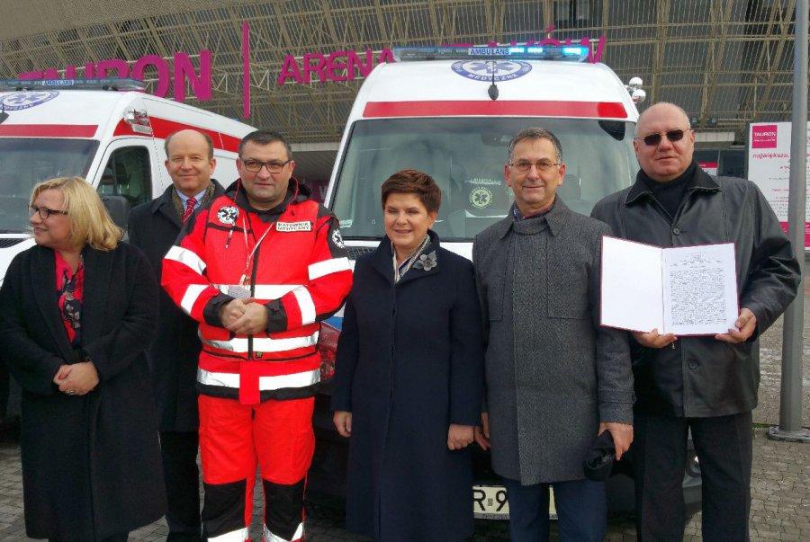 Chrzanowski szpital dostał karetkę wykorzystywaną podczas ŚDM