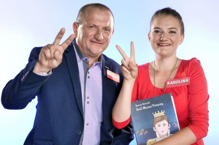 Arek i Karolina z Bolęcina wygrali 50 tys. złotych
