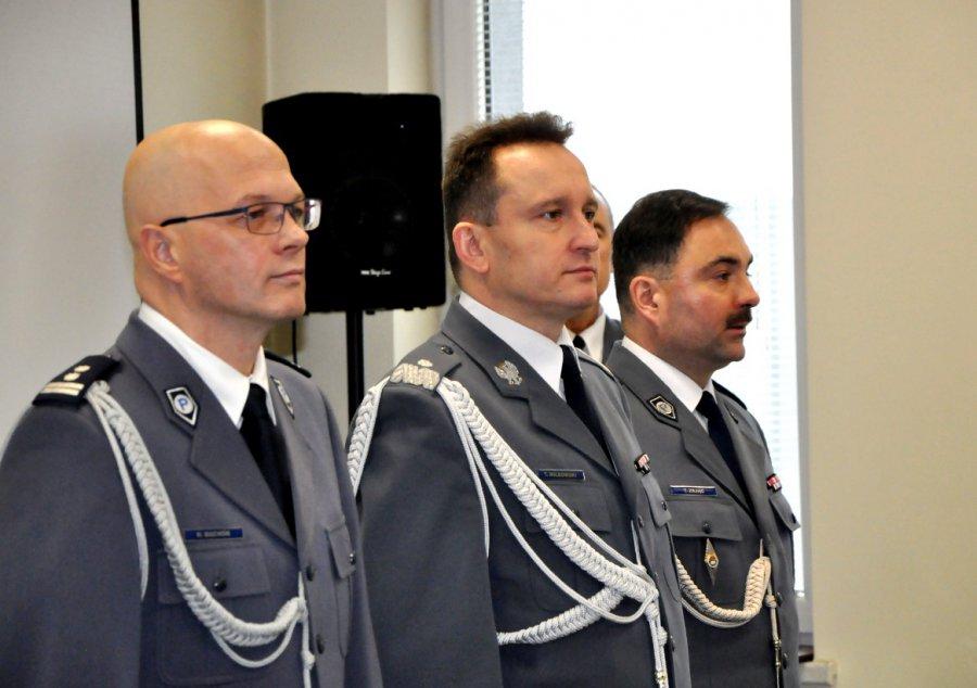 Chrzanowscy policjanci mają nowego szefa