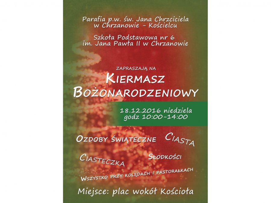 Kiermasz Bożonarodzeniowy w Kościelcu