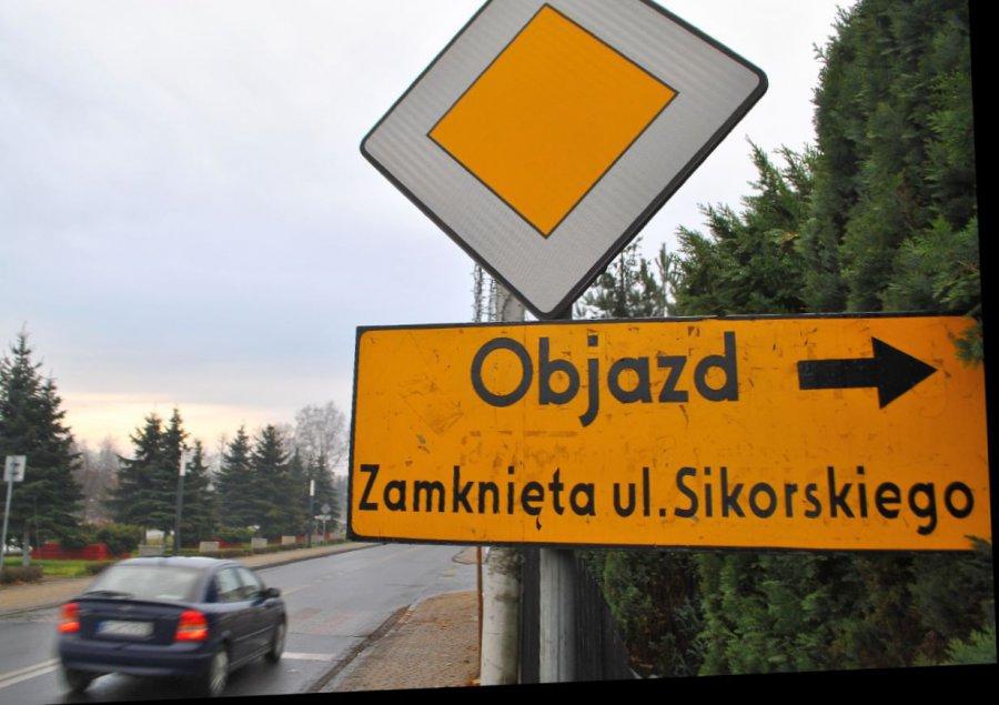 W centrum Libiąża drogowcy wciąż pracują